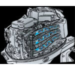 Tohatsu MFS25B EPTS csónakmotor