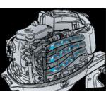Tohatsu MFS25C L csónakmotor