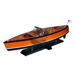 """Hajómakett """"American motorboat"""""""
