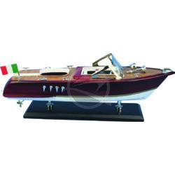 "Hajómakett ""Italian motorboat"""