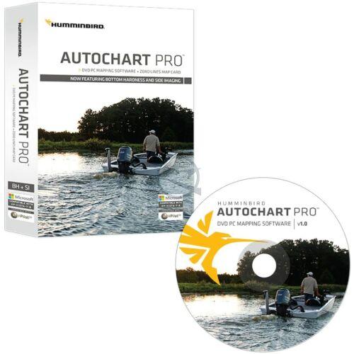 HUMMINBIRD Autochart PRO PC Side Imaging szoftver