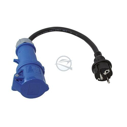 Csatlakozó CEE adapter, 20 cm