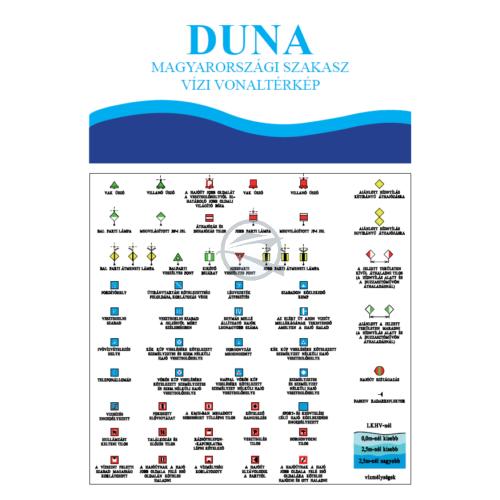 Duna vizi vonaltérkép
