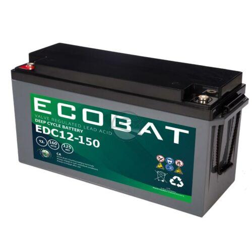 Ecobat AGM zselés munka akkumulátor