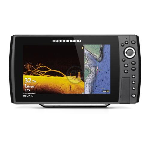Humminbird Helix 10 Chirp MEGA DI+ (plus) GPS G4N halradar