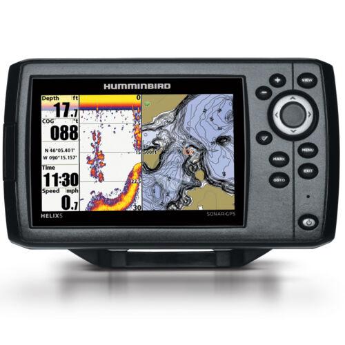 Humminbird Helix 5 Chirp Combo G2 GPS és halradar
