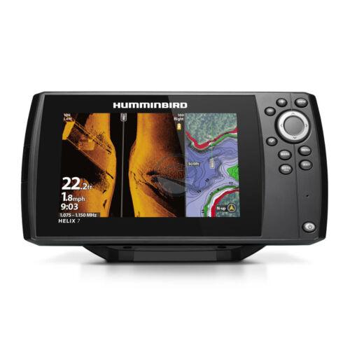 Humminbird Helix 7 Chirp MEGA SI G3 GPS halradar