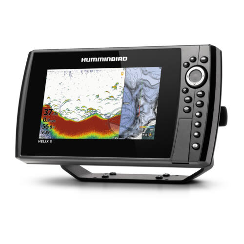 Humminbird Helix 8 Chirp 2D, GPS G4N halradar