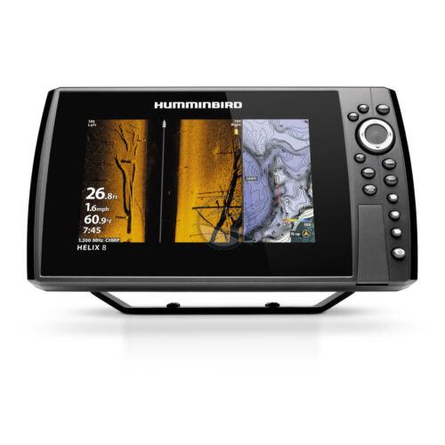 Humminbird Helix 8 Chirp MEGA SI + (plus) GPS G4N halradar