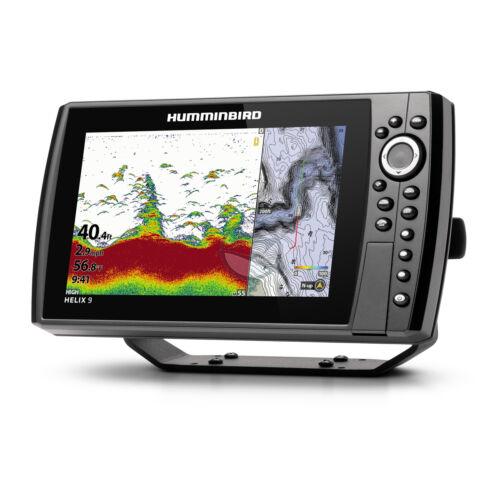 Humminbird Helix 9 Chirp 2D, GPS G4N halradar