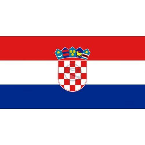 zászló horvát 20 x 30 cm
