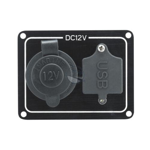 Szivargyújtó USB csatlakozótábla