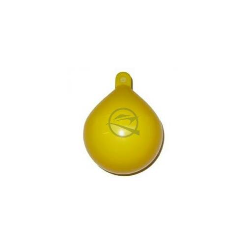 Bója, sárga, csepp forma