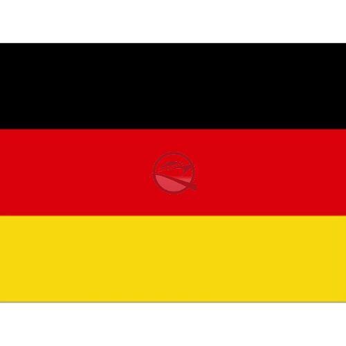 Zászló német 20 x 30 cm