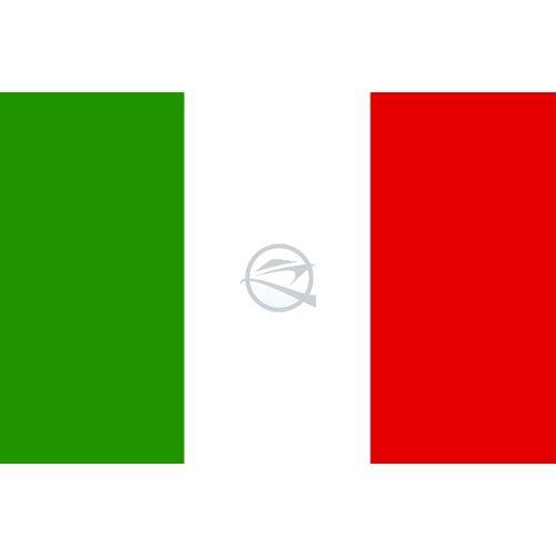 Zászló olasz 20 x 30 cm