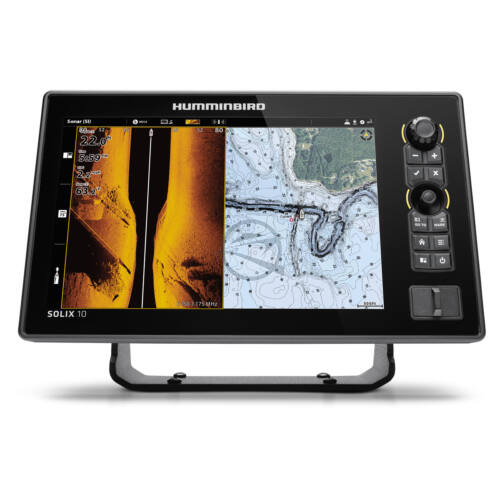 Humminbird Solix 10 Chirp Mega plus SI GPS G3 halradar