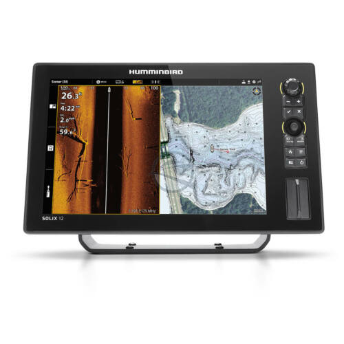 Humminbird Solix 12 Chirp Mega plus SI GPS G3 halradar