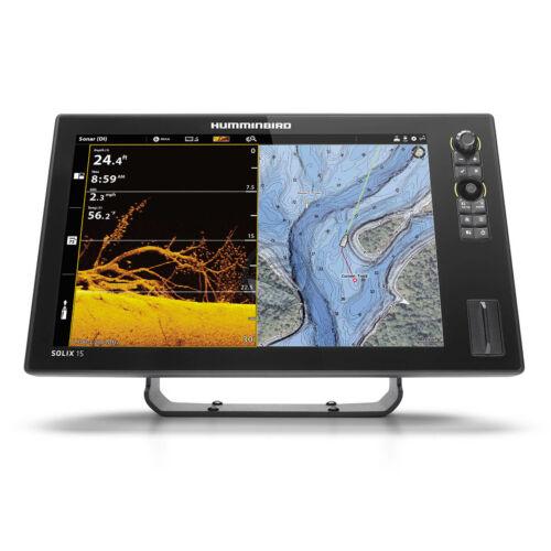 Humminbird Solix 15 Chirp Mega plus SI GPS G3 halradar